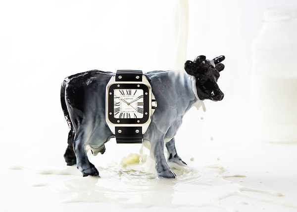Cartier Watch Milk Cow